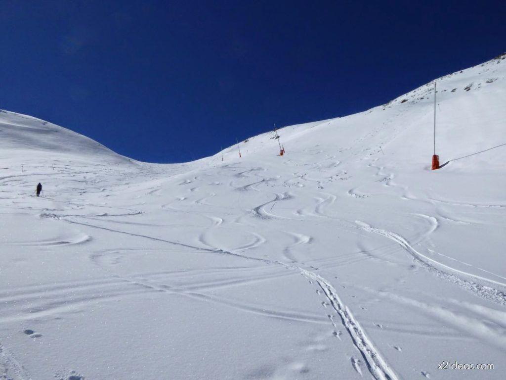 P1100248 1024x768 - Pico Gallinero con nieve polvo, Cerler
