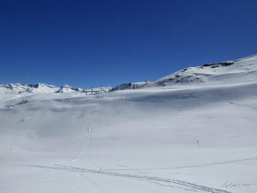 P1100250 1024x768 - Pico Gallinero con nieve polvo, Cerler