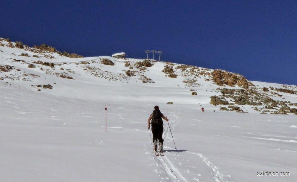 P1100251 1024x626 - Pico Gallinero con nieve polvo, Cerler