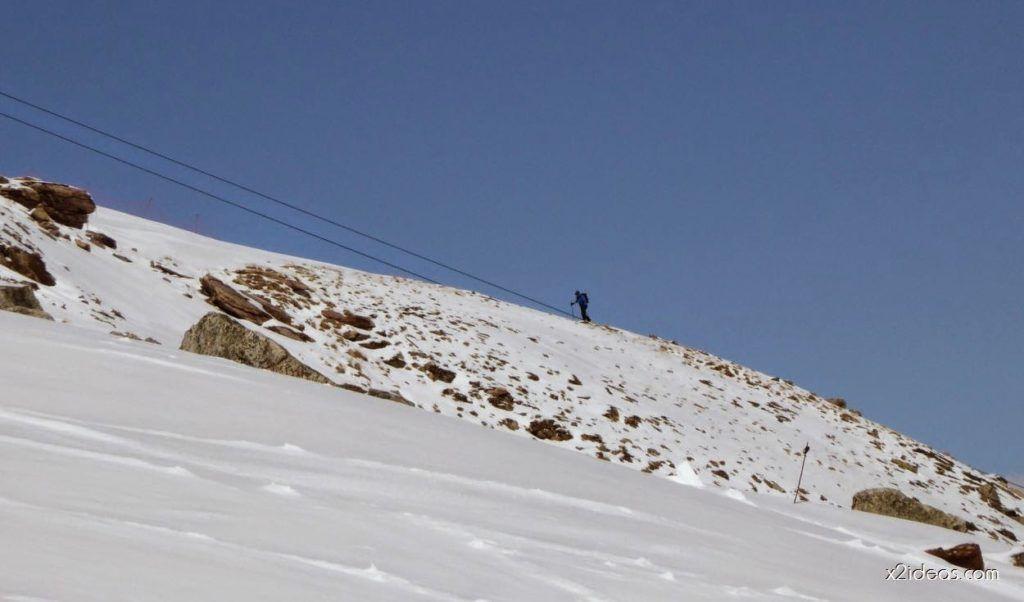 P1100252 1024x602 - Pico Gallinero con nieve polvo, Cerler
