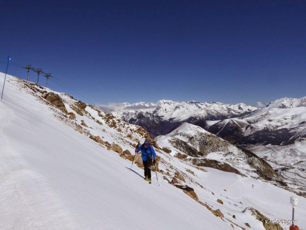 P1100256 1024x768 - Pico Gallinero con nieve polvo, Cerler