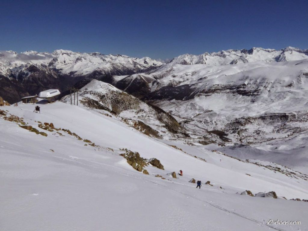 P1100257 1024x768 - Pico Gallinero con nieve polvo, Cerler