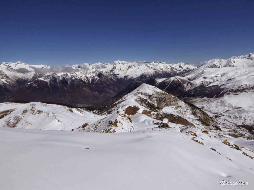 P1100260 1024x768 - Pico Gallinero con nieve polvo, Cerler