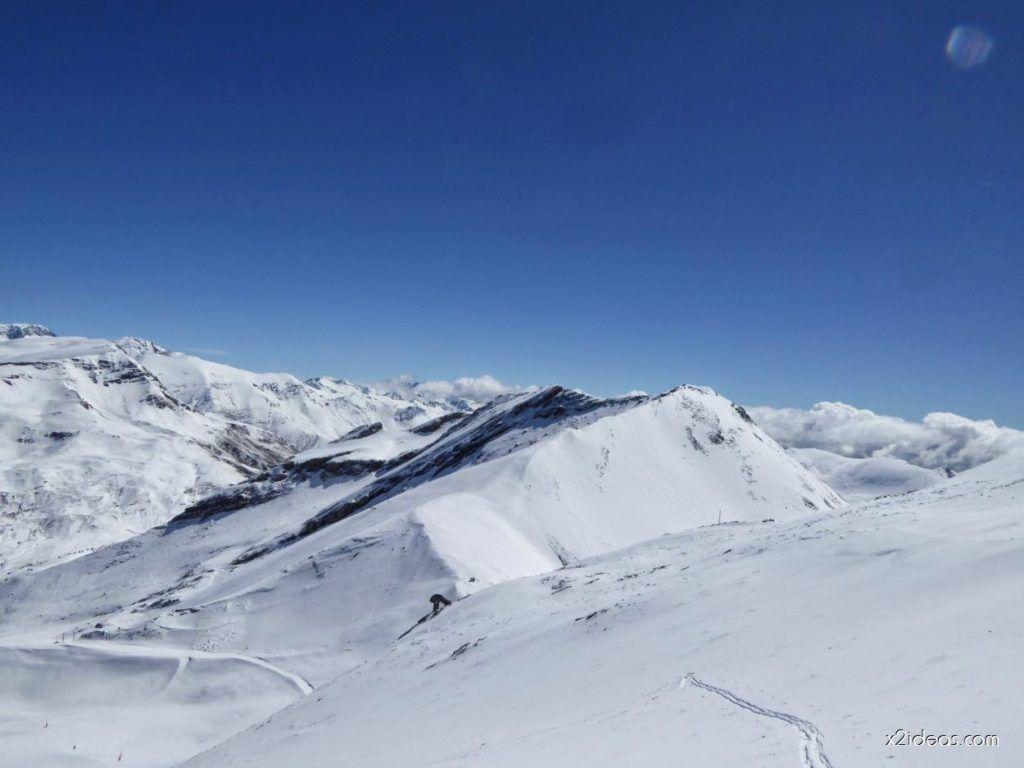 P1100263 1024x768 - Pico Gallinero con nieve polvo, Cerler