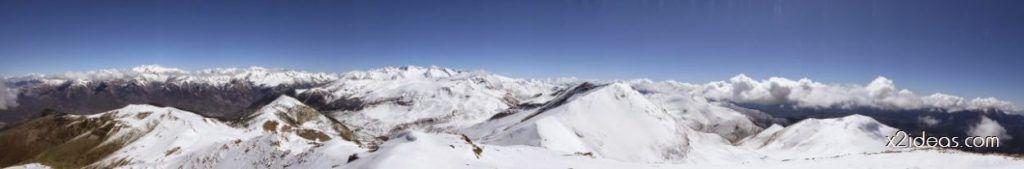P1100266 1024x169 - Pico Gallinero con nieve polvo, Cerler