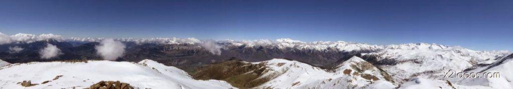 P1100267 1024x178 - Pico Gallinero con nieve polvo, Cerler