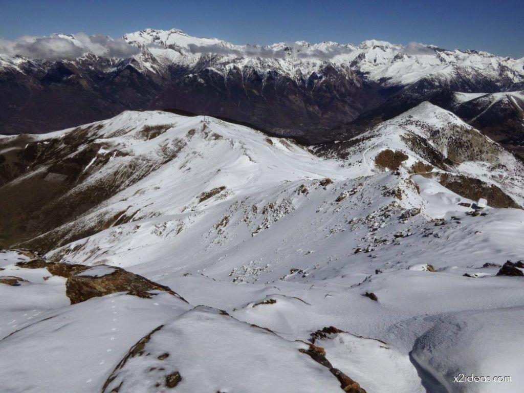 P1100268 1024x768 - Pico Gallinero con nieve polvo, Cerler