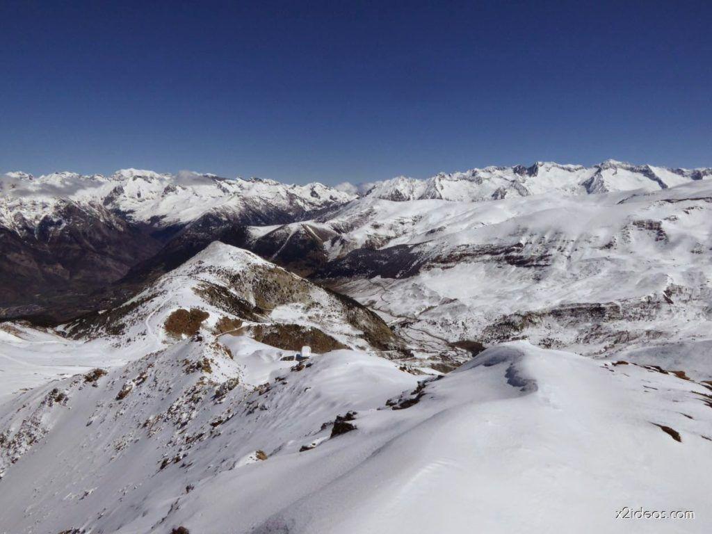 P1100269 1024x768 - Pico Gallinero con nieve polvo, Cerler
