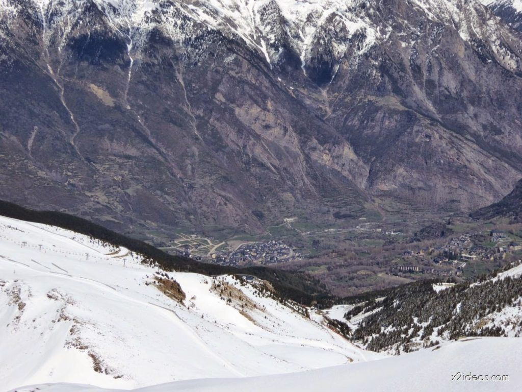 P1100286 1024x768 - Pico Gallinero con nieve polvo, Cerler