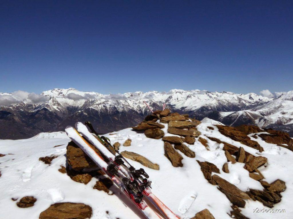 P1100289 1024x768 - Pico Gallinero con nieve polvo, Cerler