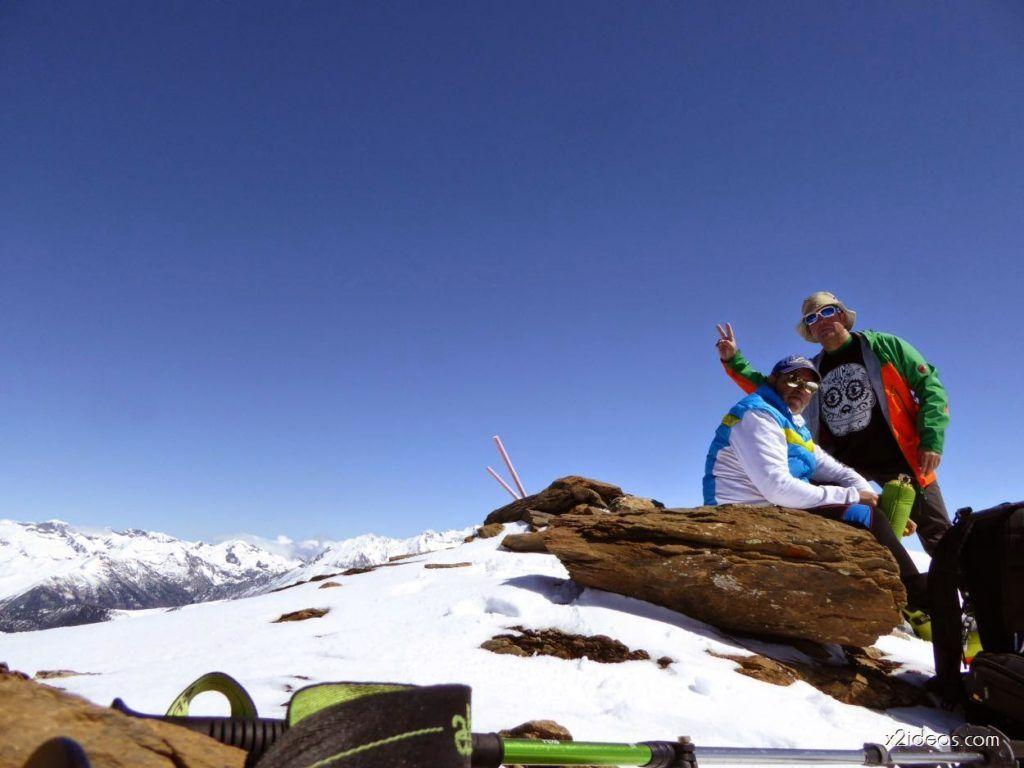 P1100291 1024x768 - Pico Gallinero con nieve polvo, Cerler