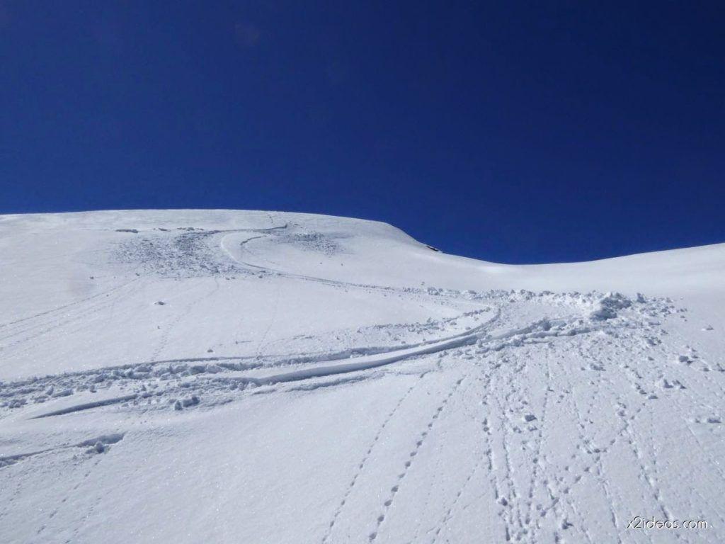 P1100292 1024x768 - Pico Gallinero con nieve polvo, Cerler
