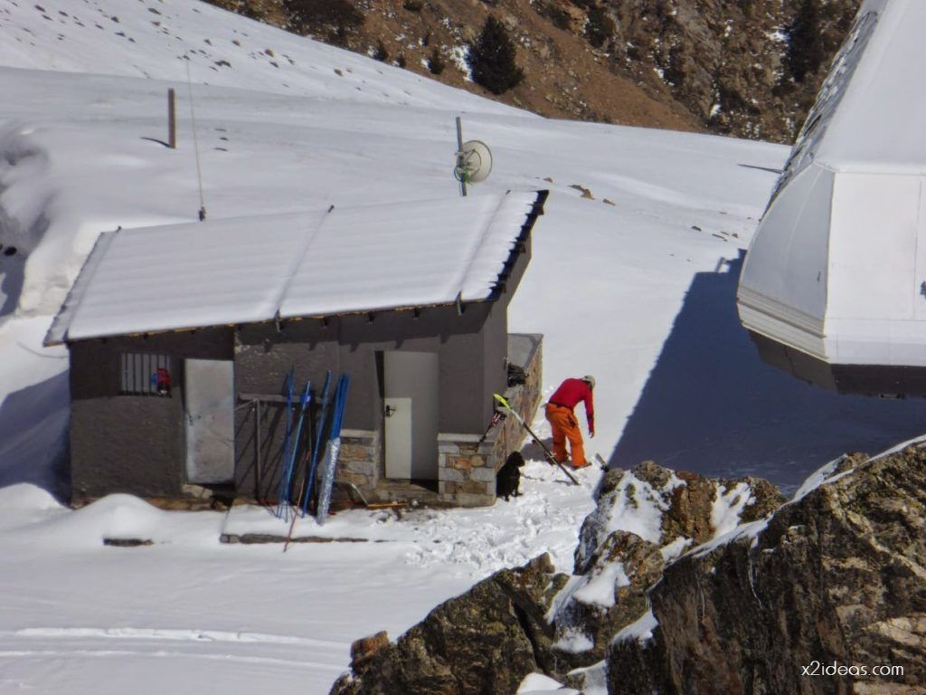 P1100294 1024x768 - Pico Gallinero con nieve polvo, Cerler