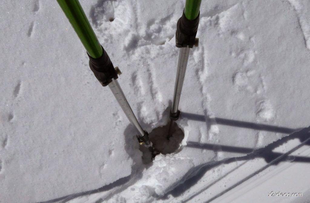 P1100297 1024x672 - Pico Gallinero con nieve polvo, Cerler