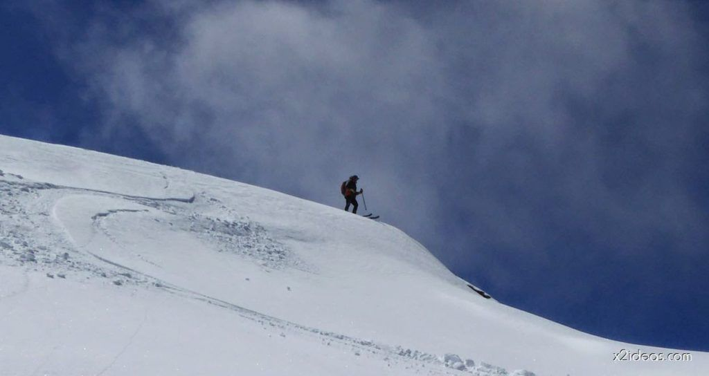 P1100300 1024x544 - Pico Gallinero con nieve polvo, Cerler