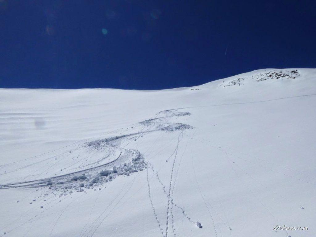 P1100309 1024x768 - Pico Gallinero con nieve polvo, Cerler