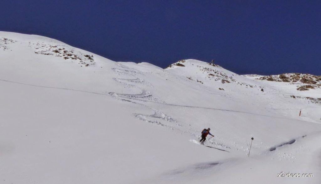 P1100322 1024x587 - Pico Gallinero con nieve polvo, Cerler