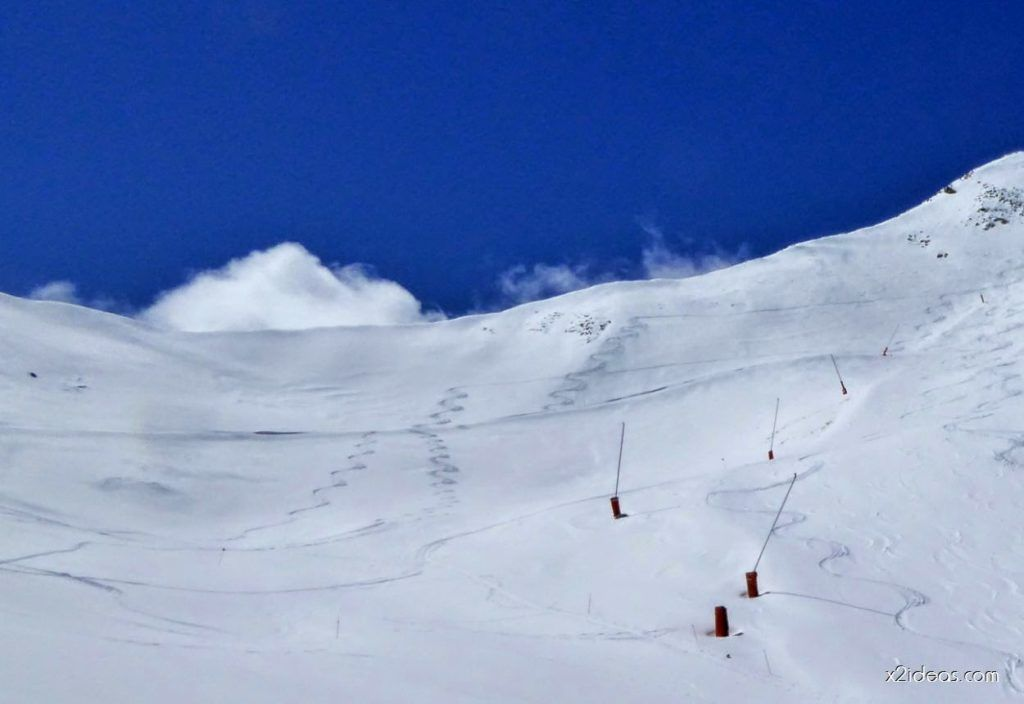 P1100325 1024x704 - Pico Gallinero con nieve polvo, Cerler