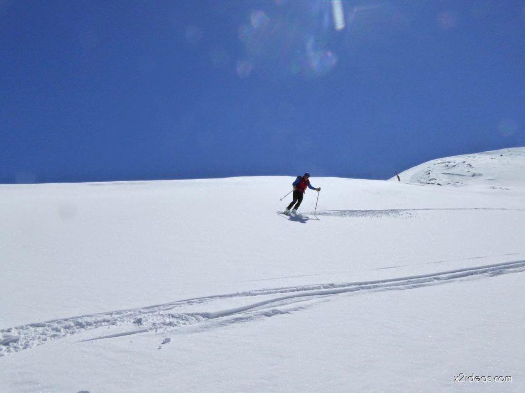 P1100326 1024x768 - Pico Gallinero con nieve polvo, Cerler