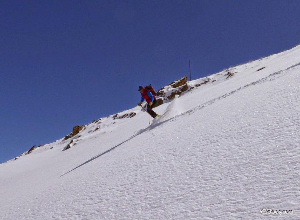 P1100329 1024x754 - Pico Gallinero con nieve polvo, Cerler