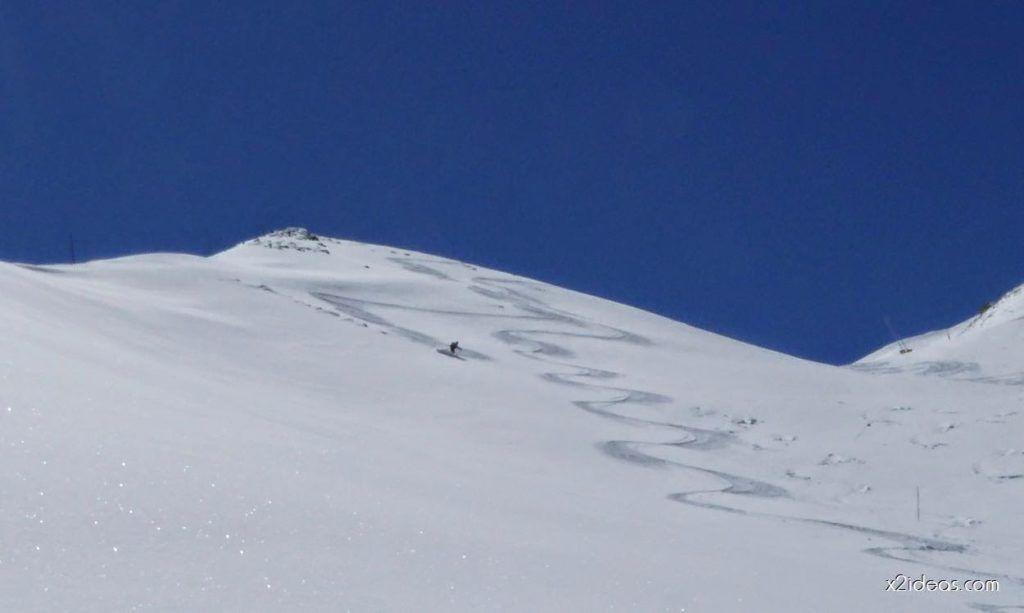 P1100346 1024x613 - Pico Gallinero con nieve polvo, Cerler