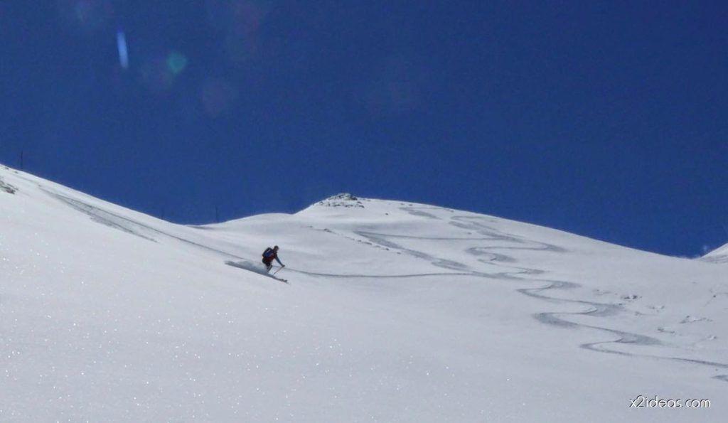 P1100353 1024x595 - Pico Gallinero con nieve polvo, Cerler