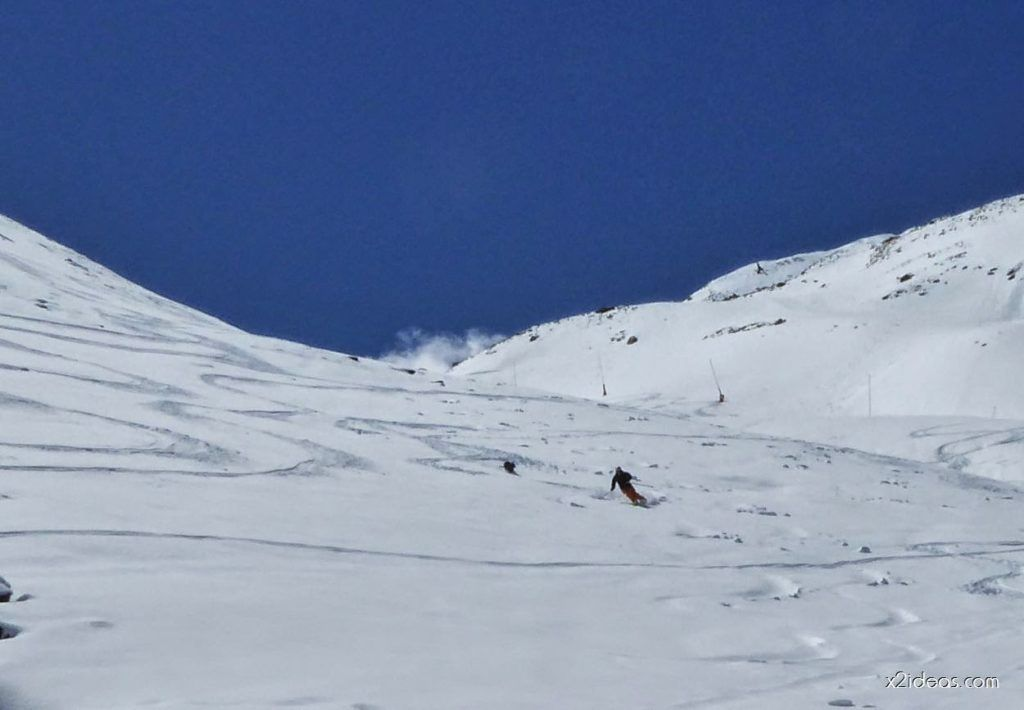P1100362 1024x710 - Pico Gallinero con nieve polvo, Cerler