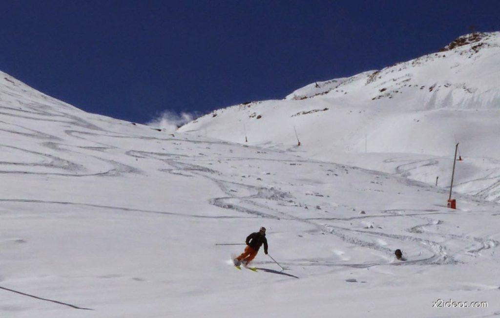P1100366 1024x651 - Pico Gallinero con nieve polvo, Cerler