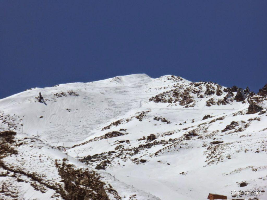P1100371 1024x768 - Pico Gallinero con nieve polvo, Cerler