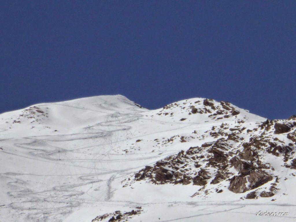 P1100372 1024x768 - Pico Gallinero con nieve polvo, Cerler