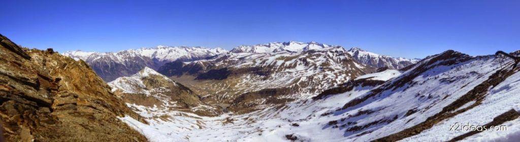 Panorama2 001 1024x281 - La pala que todos vemos desde Gallinero, Cerler.