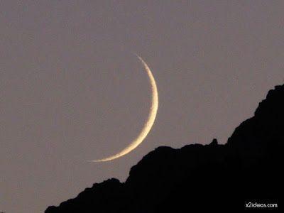 P1130774 - Amanece con Luna Rosa en el Valle de Benasque