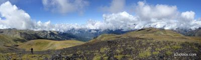 Panorama2 001 1 - Pico Estibafreda 2702 m. en Cerler, Valle de Benasque (Pirineos)