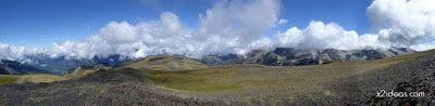 Panorama3 001 - Pico Estibafreda 2702 m. en Cerler, Valle de Benasque (Pirineos)
