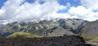 Panorama4 001 - Pico Estibafreda 2702 m. en Cerler, Valle de Benasque (Pirineos)