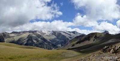 Panorama7 001 - Pico Estibafreda 2702 m. en Cerler, Valle de Benasque (Pirineos)