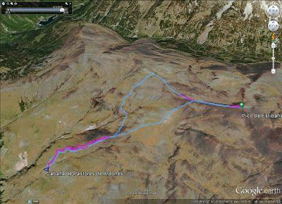 PicoEstibafreda2702m. - Pico Estibafreda 2702 m. en Cerler, Valle de Benasque (Pirineos)