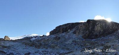 Panorama3 - Nevada en Ardonés, septiembre 2015. Valle de Benasque.