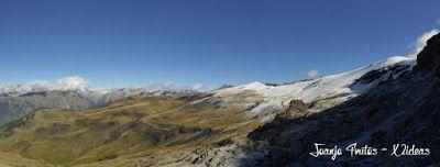 Panorama5 - Nevada en Ardonés, septiembre 2015. Valle de Benasque.