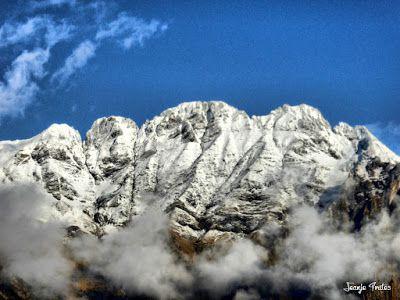 P1170602 fhdr - Segunda nevada de Noviembre en las cimas de Benasque.