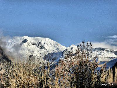 P1170604 fhdr - Segunda nevada de Noviembre en las cimas de Benasque.