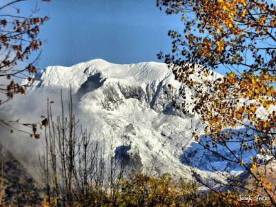 P1170611 fhdr - Segunda nevada de Noviembre en las cimas de Benasque.