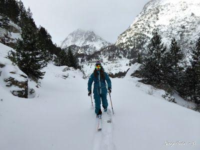 P1180134 - La primera esquiada, La Besurta (Valle de Benasque)
