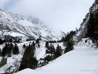P1180135 - La primera esquiada, La Besurta (Valle de Benasque)