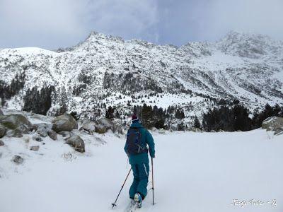 P1180137 - La primera esquiada, La Besurta (Valle de Benasque)