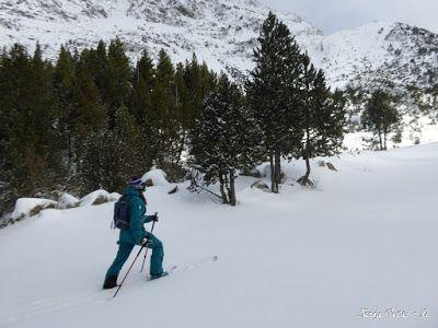 P1180151 - La primera esquiada, La Besurta (Valle de Benasque)