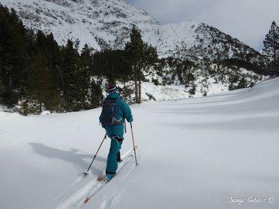 P1180158 - La primera esquiada, La Besurta (Valle de Benasque)