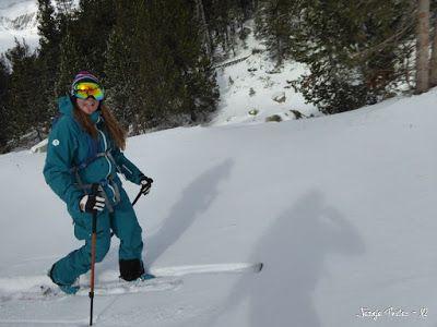 P1180166 - La primera esquiada, La Besurta (Valle de Benasque)