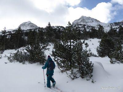 P1180172 - La primera esquiada, La Besurta (Valle de Benasque)