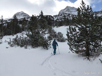 P1180174 - La primera esquiada, La Besurta (Valle de Benasque)